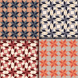 Retro geometric patterns background. Vector eps 10 Stock Photo