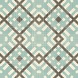 Retro geometric seamless pattern Royalty Free Stock Photo