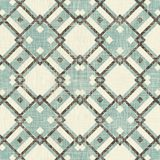 Retro geometric seamless pattern Stock Images