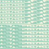 Retro geometric seamless pattern Royalty Free Stock Photo