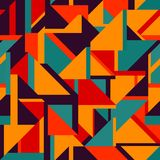 Retro geometric seamless pattern. (eps 10 Stock Photos