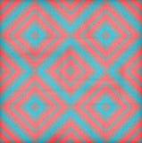 Retro geometric seamless pattern squares Stock Image