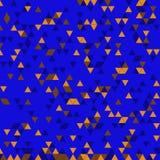 Retro geometric triangle pattern Stock Photography