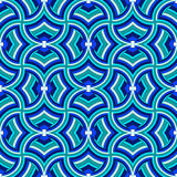 Retro geometric vector seamless patterns Stock Photo
