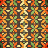Retro geometrical abstract background Stock Images