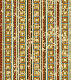 Retro geometrical pattern Royalty Free Stock Photography