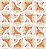 Retro geometrisch mozaïek naadloos patroon Royalty-vrije Stock Afbeeldingen