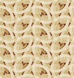 Retro geometrisch mozaïek naadloos patroon Stock Fotografie