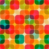 Retro geometrisch naadloos patroon royalty-vrije illustratie