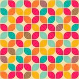 Retro geometrisch naadloos patroon stock illustratie