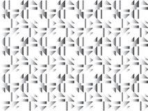Retro-, geometrischer Hintergrund Lizenzfreie Stockbilder