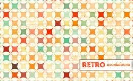Retro- geometrischer Hintergrund Lizenzfreie Stockbilder