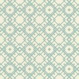Retro geometrisches nahtloses Muster Stockfotografie
