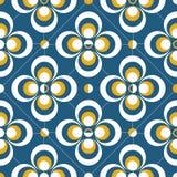 Retro geometrisk abstrakt bakgrund Royaltyfri Foto