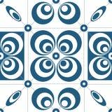 Retro geometrisk abstrakt bakgrund Fotografering för Bildbyråer