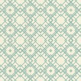 Retro geometryczny bezszwowy wzór Fotografia Stock