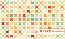Retro geometryczny tło Obrazy Royalty Free
