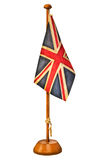 Retro gestileerd beeld van een kleine Engelse vlag Royalty-vrije Stock Foto's