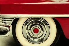 Retro gestileerd beeld van een uitstekende Amerikaanse auto Royalty-vrije Stock Afbeeldingen