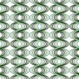 Retro- gewellte Linie Muster stock abbildung