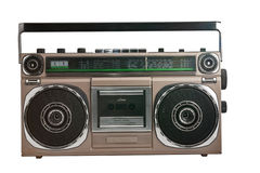 Retro ghetto blaster Royalty Free Stock Photography