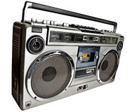 Retro ghetto blaster Royalty Free Stock Photo