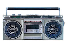 Retro ghetto blaster Stock Image