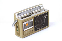 Retro ghetto blaster Royalty Free Stock Image