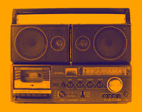 Retro ghettoblaster Stock Images