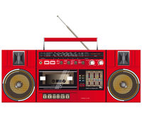 Retro ghettoblaster Royalty Free Stock Images