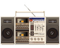 Retro ghettoblaster Stock Photos