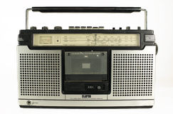 Retro- ghettoblaster Stockbilder