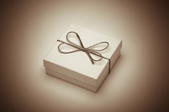 Retro gift Royalty Free Stock Photography