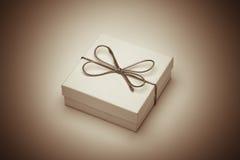 Retro gift royalty free stock photography