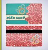 Retro Gift Card Stock Photo