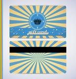 Retro Gift Card Stock Photos