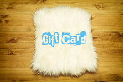 Retro Gift Card Royalty Free Stock Images