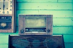 Retro giocatore radiofonico fotografia stock