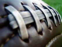 Retro gioco del calcio Fotografia Stock