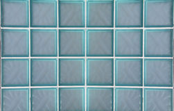 Retro glass blocks  Stock Photography
