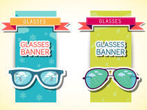 Retro glasses background concept. vector. Illustration template for your design Stock Photo