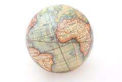 Retro globo della sfera Fotografie Stock Libere da Diritti