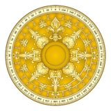 Retro gold compass Stock Photos
