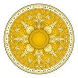 Retro gold compass Stock Photos