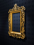 Retro Gold Frame Royalty Free Stock Photos