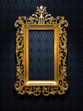 Retro Gold Frame Royalty Free Stock Images