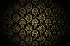 Retro gold luxury wallpaper Stock Image