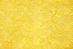 Retro gold textile Stock Photography