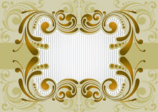 Retro golden background Stock Images