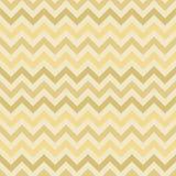Retro gouden vectorpatroon van de zigzagchevron Stock Foto